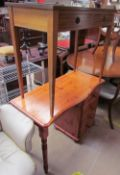 A pine dressing table,