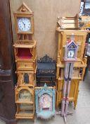 Bryan Gibbons, Cardiff - An Art Nouveau inspired wall shelf,