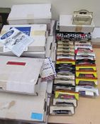 A large collection of LLedo and Days gone model cars etc