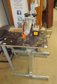 A Eumenia M50L/300 radial saw (sold as seen,