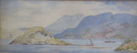 Alice Campbell Appin Watercolour Inscribed verso Together with three prints