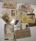 A collection of Stereoscopic viewing cards,