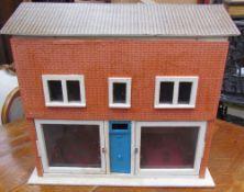 A scratch built dolls house,