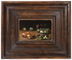 JAN VAN KESSEL ML. (group / school) 1654 - 1708: PAIR OF MANNERIST STILL LIFES Second half of 17th