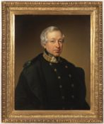 FRANZ EYBL (attributed) 1806 - 1880: PORTRAIT OF A MAN IN UNIFORM After 1849 Oil on canvas 76,5x61