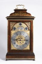 JACOB MEYER II. ???? - 1750: BAROQUE TABLE CLOCK WITH CARILLON Ca. 1740 Rosewood, gilt brass,