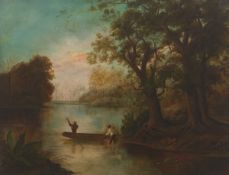Attributed to Robert S. Duncanson (American, 1821 - 1872)