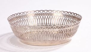 Ercuis France silver plated basket