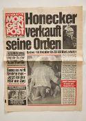 Orden & Ehrenzeichen Deutschland - Nachlass Erich Honnecker : Einleitung Nachlaß Erich Honeck<