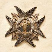 Ausländische Orden & Ehrenzeichen - Frankreich : ORDRE DE SAINT LOUIS - Bruststern z