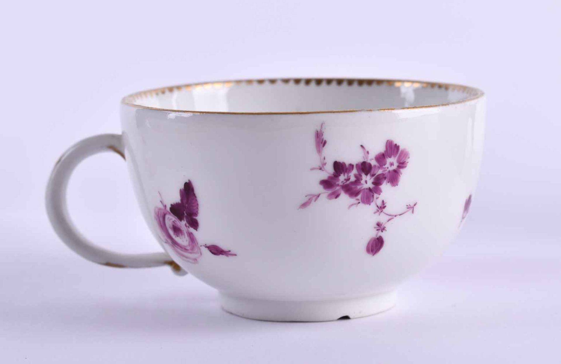 Cup & saucer Meissen 1740-80 - Bild 4 aus 7