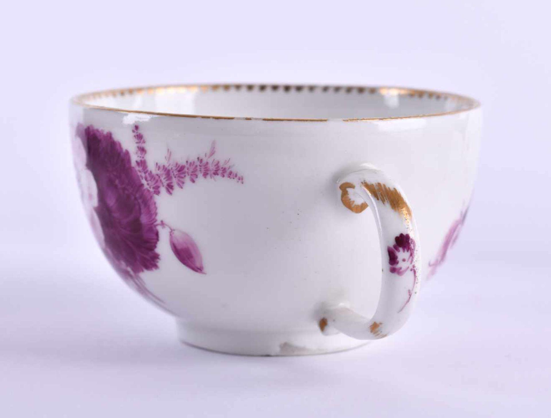 Cup & saucer Meissen 1740-80 - Bild 5 aus 7