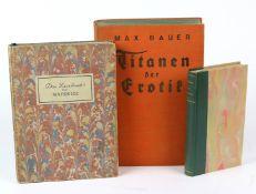 3 Erotika Bücherdabei *Der Komödiant* Roman aus der zeit des Kaisers Augustus, autoris. Übersetzung,