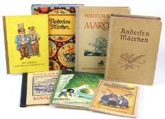 Konvolut von 7 Märchenbüchernmit I. *Andersens Märchen* Hans Christian Andersen, nach dem