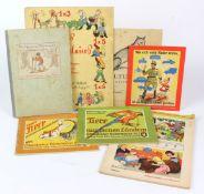 Konvolut von 7 Kinderbüchernmit I. *Das Einmaleins in lustigen Versen und Bildern* von Toni Wagner-