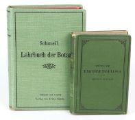 Lehrbuch der Botanik für höhere Lehranstaltenund die Hand des Lehrers, Otto Schmeil, mit 38 farbigen