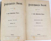 Polytechnisches Journalhrsg. von Dr. Maximilian Dingler, mit sechs Tafeln Abb.. 211. Band Jahrgang