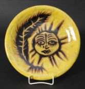 Keramik-Künstlerteller / An artist ceramic plate, Jean Lurcat (Bruyeres 1892-1966 St.-Paul-de-