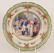 Prunkschale 'Napoléon 1er et la Reine de Prusse' / A splendid bowl depicting Napoleon I. and the