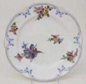 Teller / A plate, Sèvres, 1764-1778<