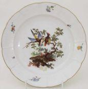 Teller / A plate, Frankenthal, Adam Bergdoll, um 1765