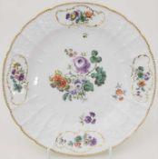 Teller / A plate, Meissen, um 1760