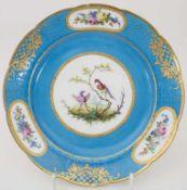 Teller / A plate, Sèvres, 19. Jh.<