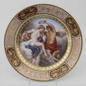 Klassizismus Teller 'Der Frühling' / A plate depicting Spring, Wien/Vienna, 1820<