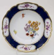 Rokoko Teller / A Rococo plate, Meissen, 1763-1773