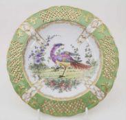 Teller / A plate, Sceaux, Frankreich / France, 19. Jh.