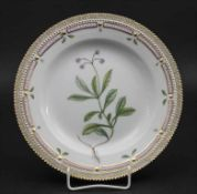 Teller mit Dolden-Winterlieb / A plate with common wintergreen, Flora Danica, Royal Copenhagen,