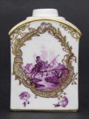 Teedose / A tea caddy, Meissen, um 1750