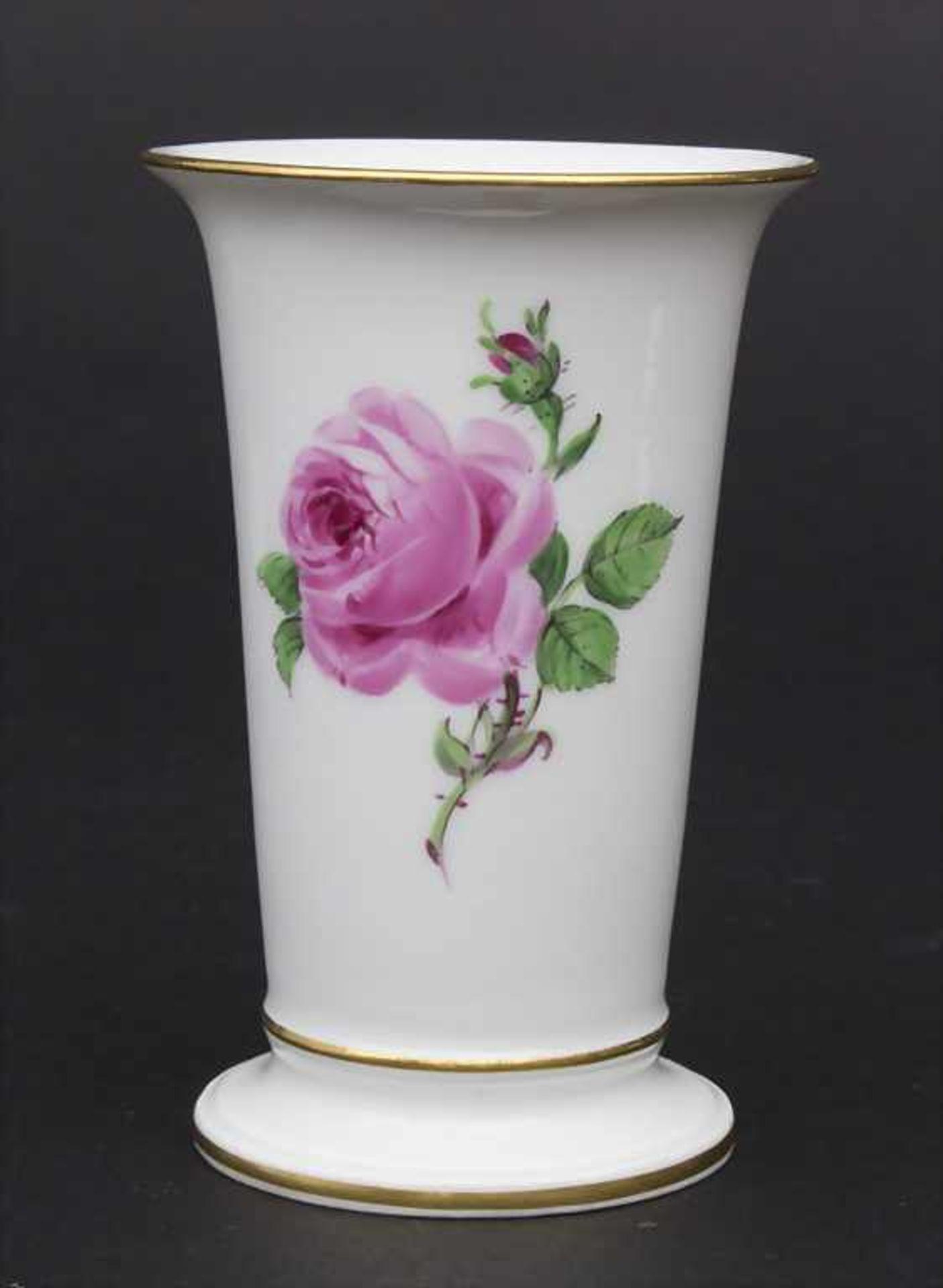 Konvolut Porzellane mit Rosendekor / A set of porcelain with roses, Meissen, 20. Jh. - Bild 3 aus 13