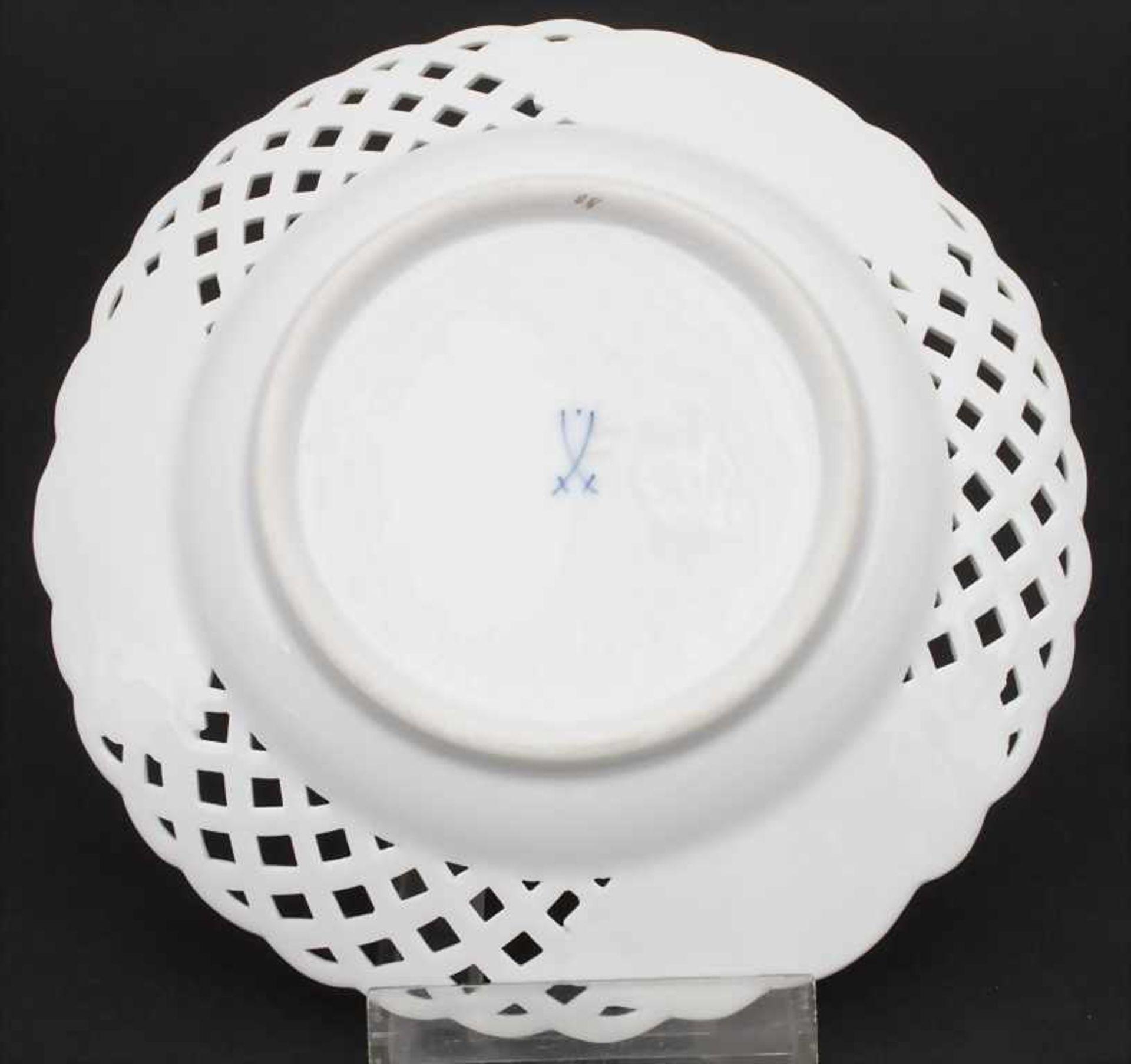 Konvolut Porzellane mit Rosendekor / A set of porcelain with roses, Meissen, 20. Jh. - Bild 12 aus 13