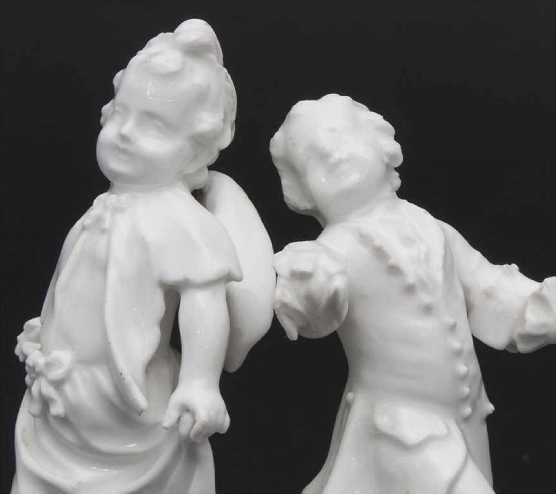 2 tanzende Kinder / A dancing boy and girl, wohl Michel Victor Acier, Meissen, um 1760 - Bild 6 aus 6