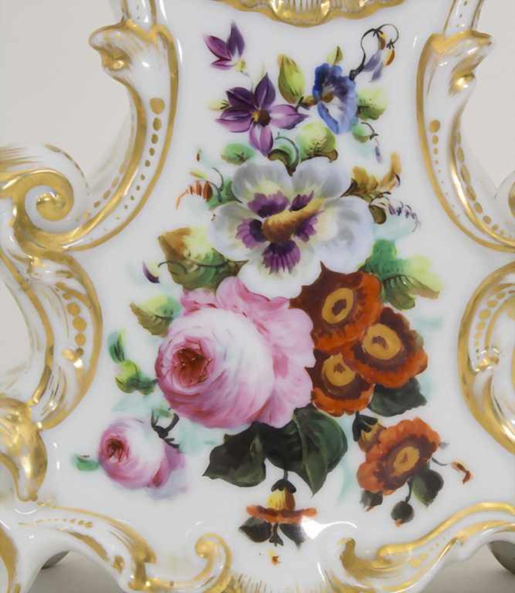 Biedermeier Kaminuhr / A Biedermeier mantel clock, Frankreich, 19. Jh. - Bild 3 aus 9