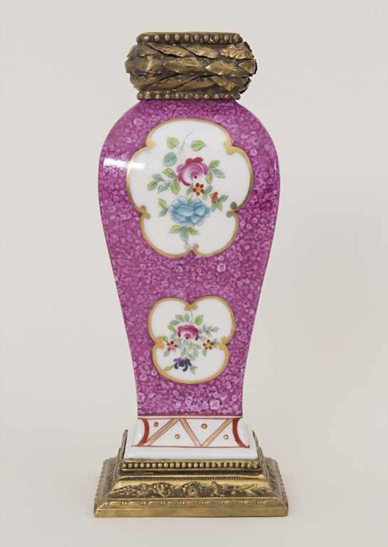 Vase mit Bronzemontur / A vase with bronze mounts, Frankreich, um 1880 - Bild 4 aus 8