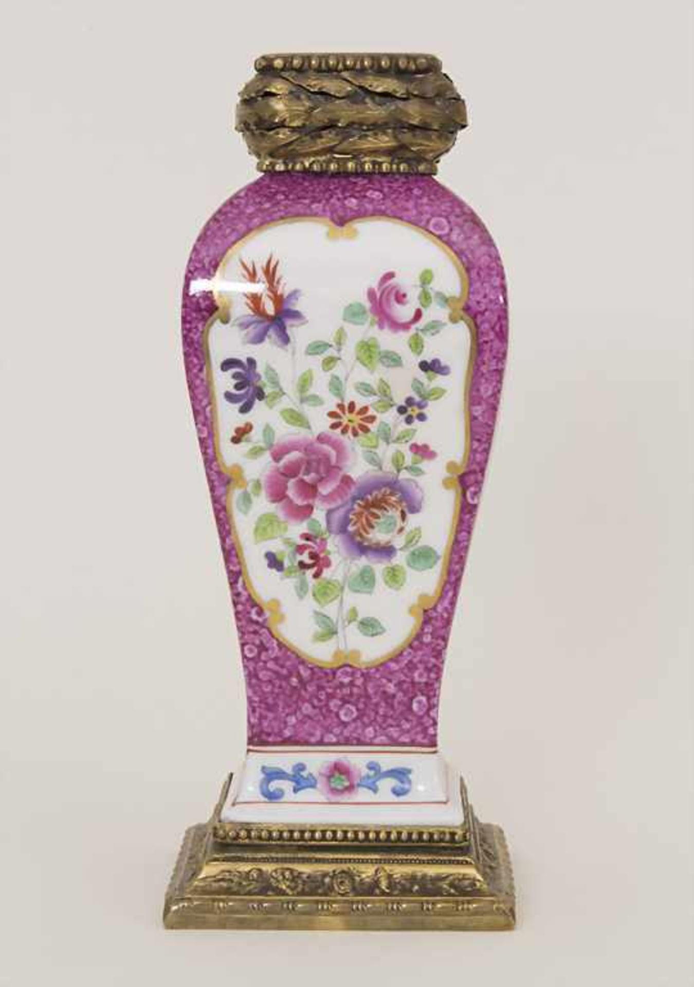 Vase mit Bronzemontur / A vase with bronze mounts, Frankreich, um 1880 - Bild 3 aus 8