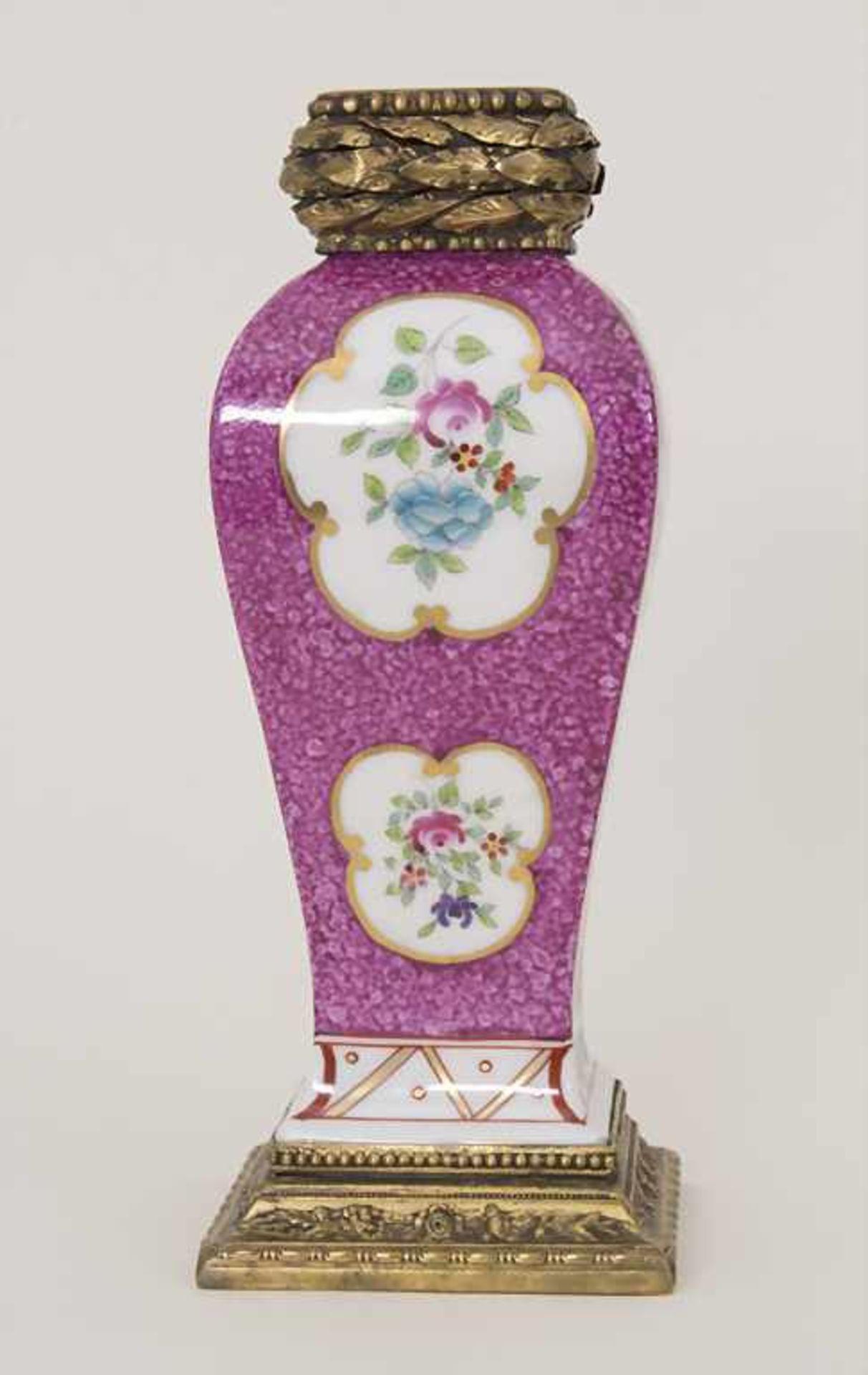 Vase mit Bronzemontur / A vase with bronze mounts, Frankreich, um 1880 - Bild 2 aus 8