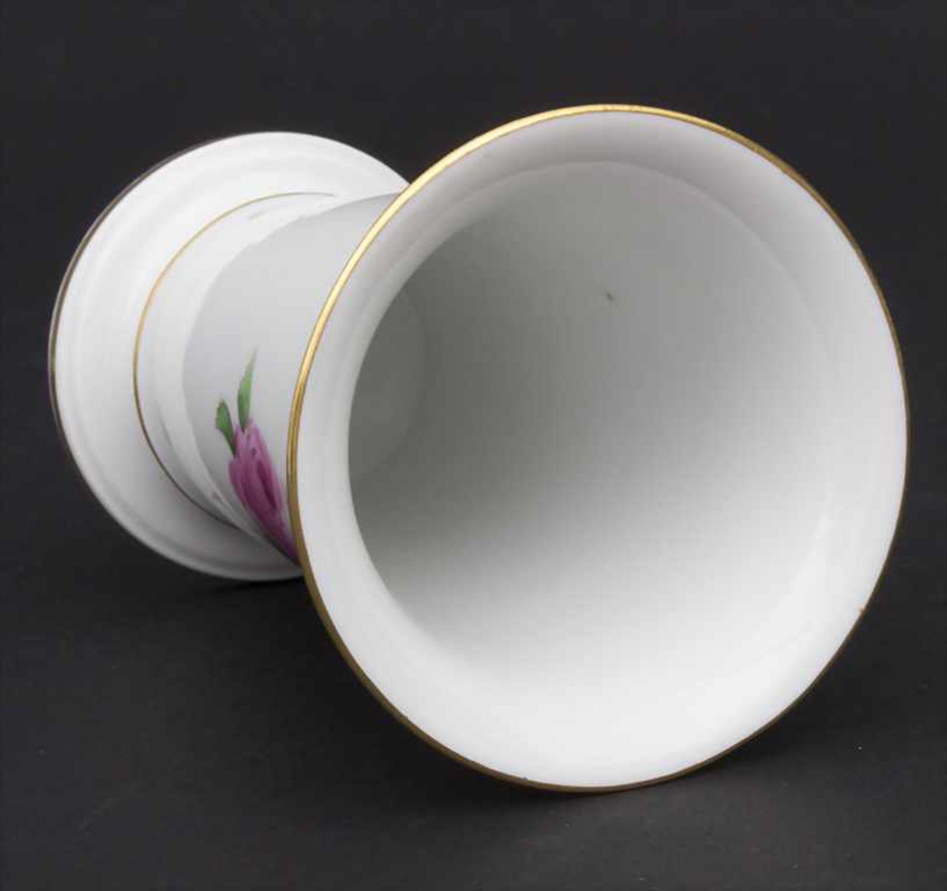 Konvolut Porzellane mit Rosendekor / A set of porcelain with roses, Meissen, 20. Jh. - Bild 4 aus 13