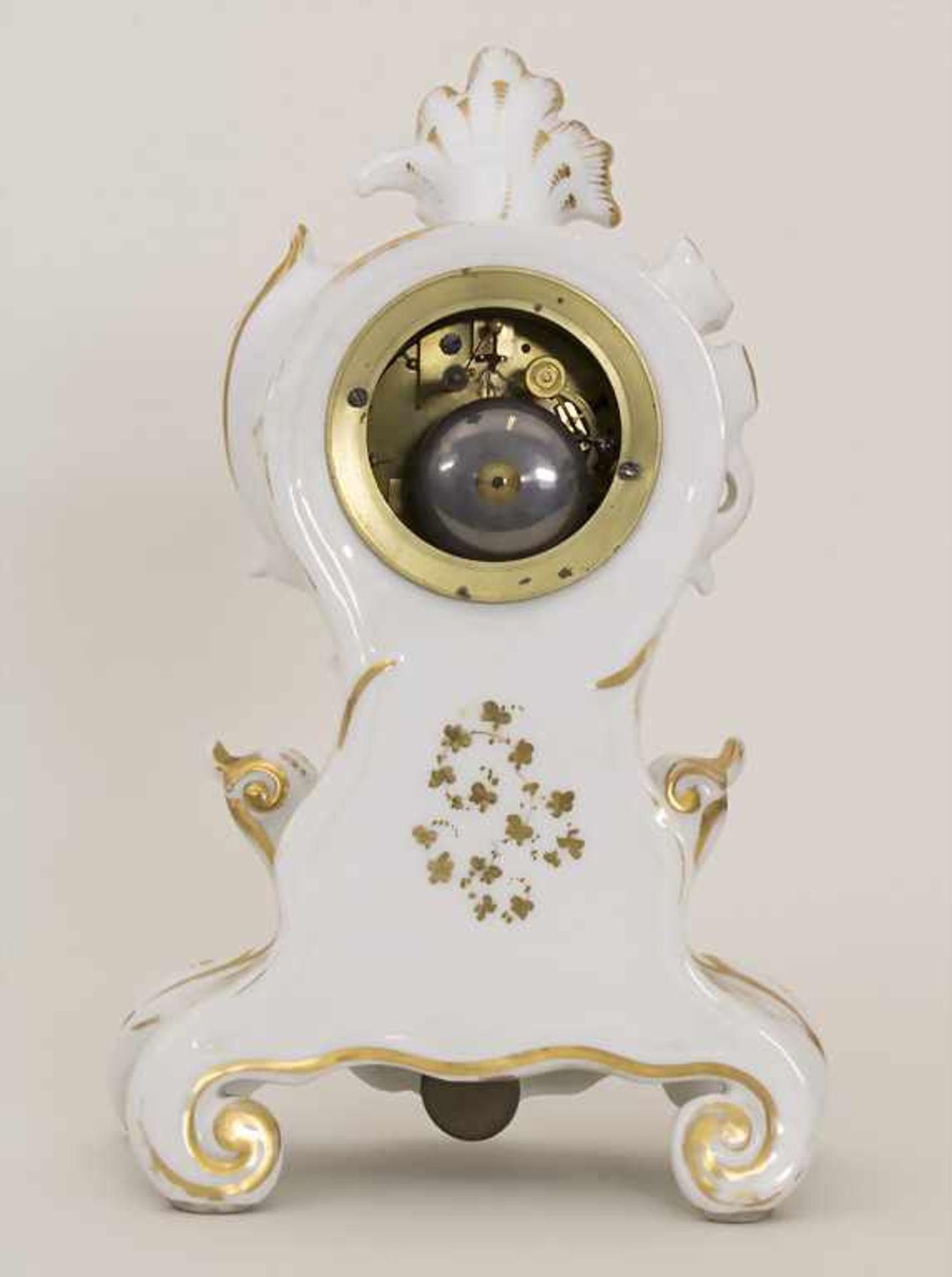 Biedermeier Kaminuhr / A Biedermeier mantel clock, Frankreich, 19. Jh. - Bild 5 aus 9