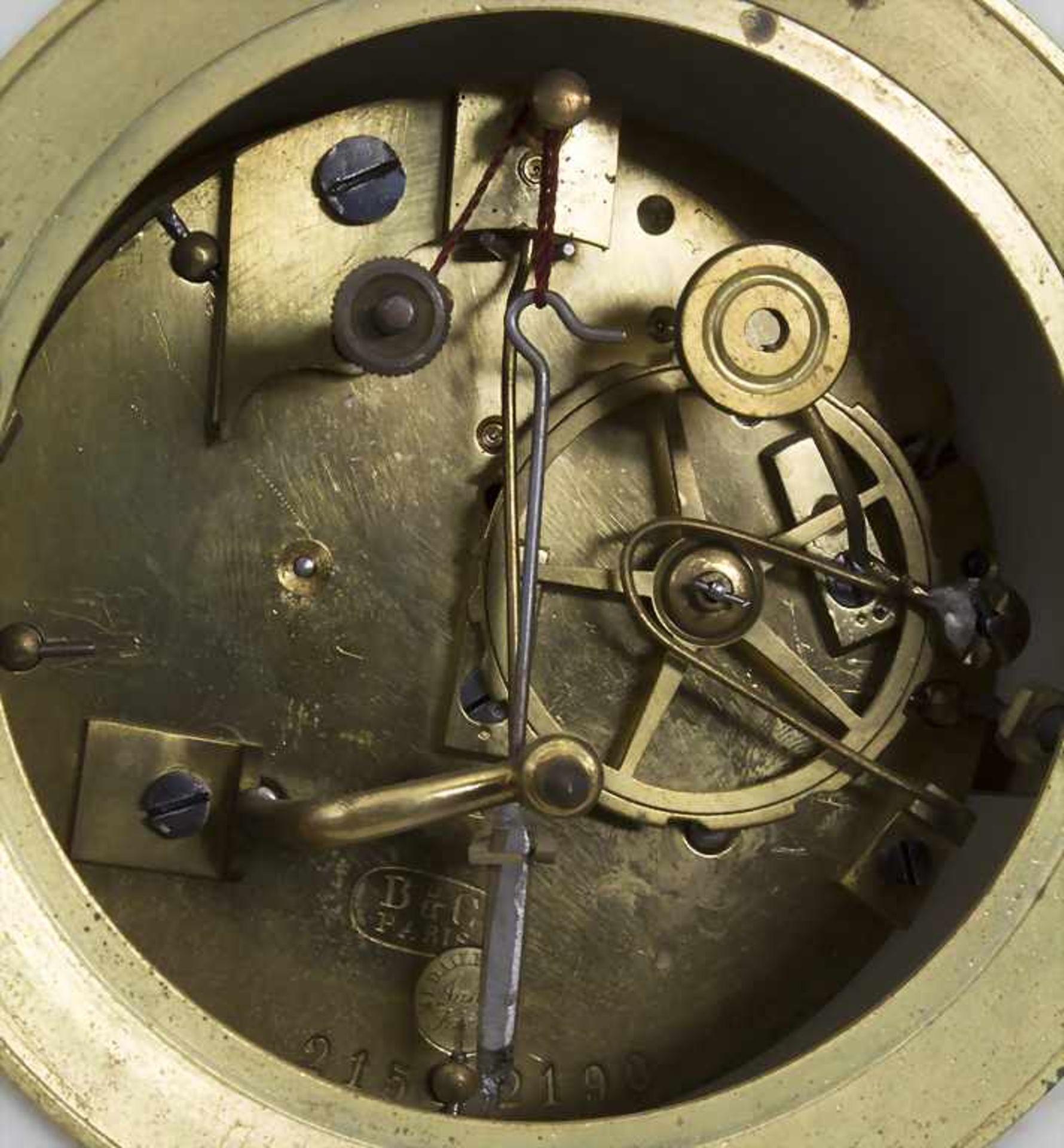 Biedermeier Kaminuhr / A Biedermeier mantel clock, Frankreich, 19. Jh. - Bild 8 aus 9
