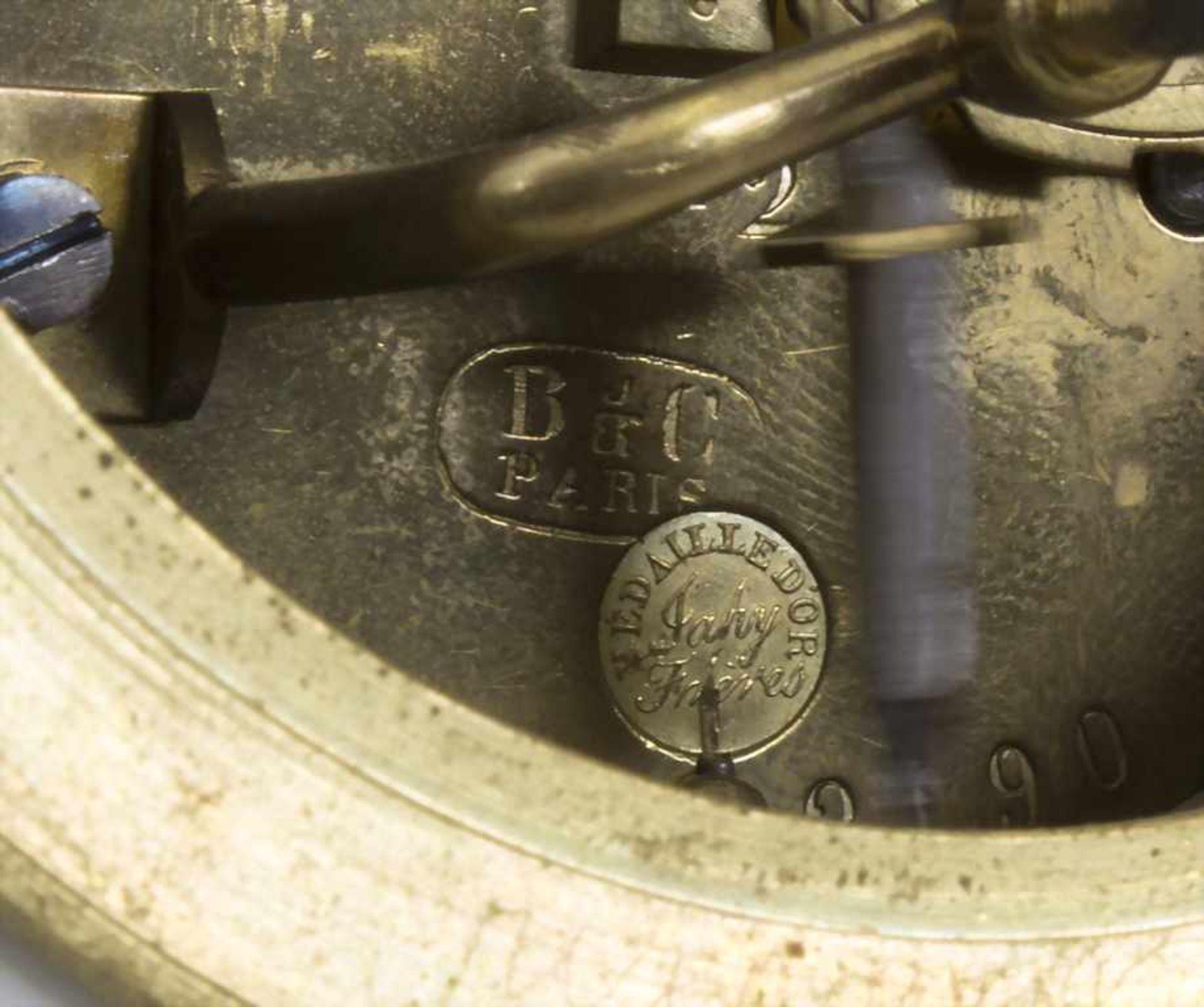 Biedermeier Kaminuhr / A Biedermeier mantel clock, Frankreich, 19. Jh. - Bild 9 aus 9