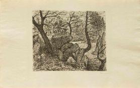 Fritz Cremer(Arnsberg 1906 - 1993 Berlin, deutscher Bildhauer, Zeichner u. Grafiker, Steinmetzlehre,