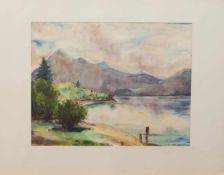 Unbekannt(Landschaftsmaler u. Zeichner zur Mitte des 20. Jh.)5 LandschaftsaquarelleAqarelle,