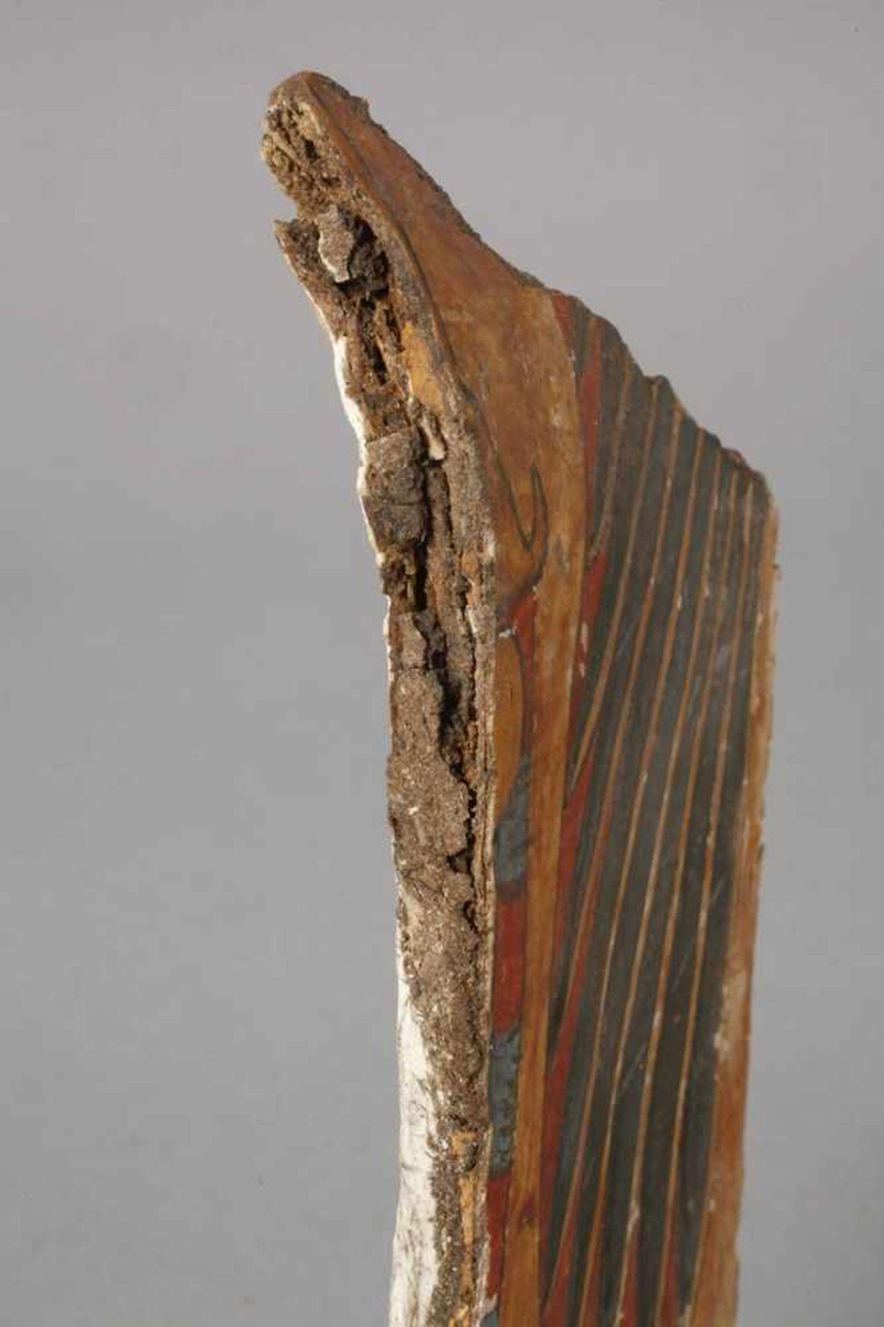 Fragment einer Mumienkartonage - Bild 2 aus 3