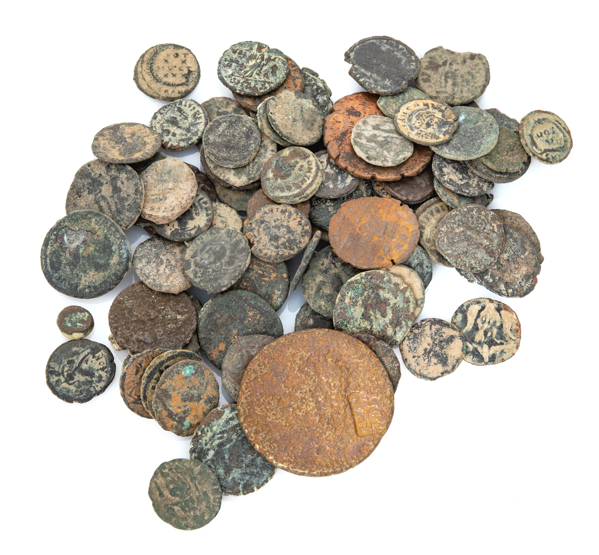 Lot 14 - NINETY COINS ROMAN EMPIRE