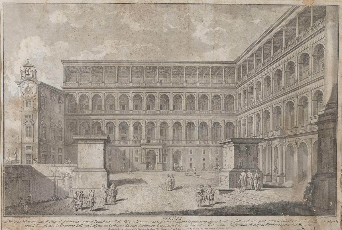 Lot 7 - ROMAN ENGRAVER 18TH CENTURY