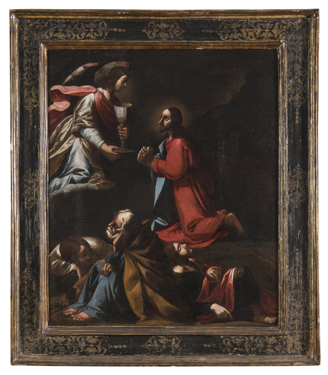 Lot 31 - CARAVAGGESQUE PAINTER FROM SIENA 17th CENTURY