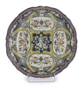 CERAMIC PLATE PROBABLY ROMAN MANUFACTURE LATE 19th CENTURY